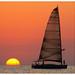 Sunset & Ship