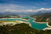 Pantano de Mediano (Oscar Parra Photographer) Tags: españa azul huesca paisaje nubes embalse mediano samitier
