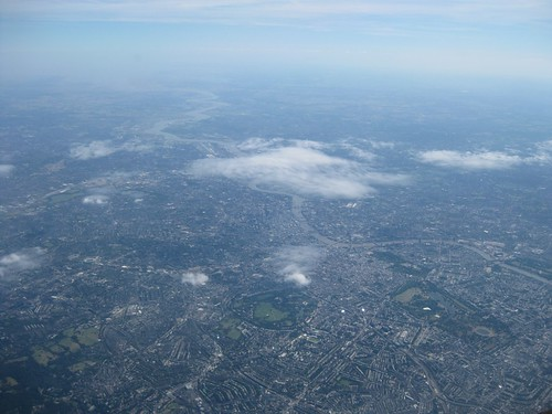 Descent into London Stansted.