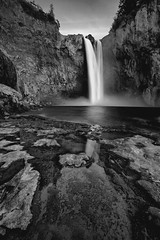 Snoqualmie Falls (~ Aaron Reed ~) Tags: bw reflection reed nature monochrome vertical oregon canon landscape photography waterfall washington aaron photographyclass photographers hydro stockphotos pacificnorthwest canon5d snoqualmiefalls sunrisesunset canoneos gitzo snoqualmie stockimages digitalphotography naturephotography reallyrightstuff professionalphotography pacifcnorthwest blackwhitephotography landscapephotography photographyschool beautifullandscape canonphotography seattlephotographer nohdr singhray outdoorphotographer aaronreed leefilters landscapephotographer neutraldensityfilters washingtonphotographer photographytraining pacificnorthwestphotography framedartprints colorfulpictures thinktankphoto singhrayfilters aaronreedphotography oregonphotography oregonphotographer canon5dmk2 5dmk2 reallyrightstuffballhead silvereffects washingtonphotography singhrayneutraldensityfilters gitzotripods oregonwashingtonphotographer oregonwashingtonphotogra