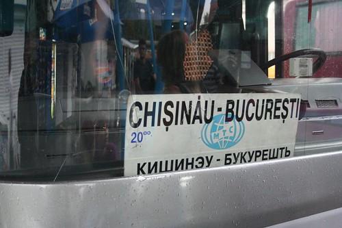 Autocarro Chisinau na Moldávia
