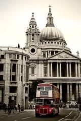 bus 15, not in service (ion-bogdan dumitrescu) Tags: uk red england bus london english cathedral stpauls icon double british decker bitzi summer09 mg6315 ibdp catav findgetty ibdpro wwwibdpro ionbogdandumitrescuphotography