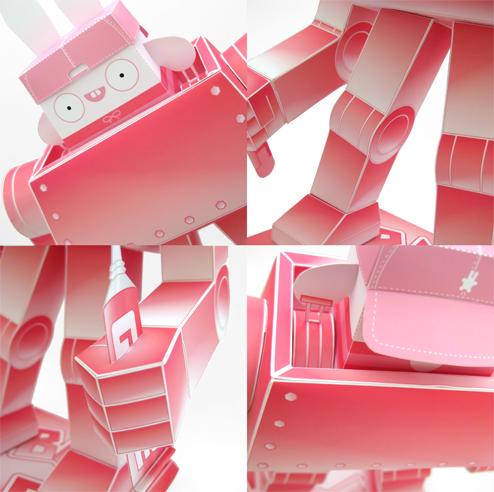 Close-Ups Bubblebot - Urban Paper Tokyo