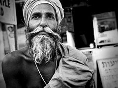 sdhu (Modest Janicki (Modest and Jill)) Tags: travel portrait bw india pushkar hindu rajasthan sdhu sanys swmi