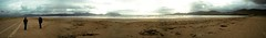 Dingle Peninsula - Inch Beach Panorama (Dave Noyle) Tags: ireland beach clouds bay sand inch dingle panoramic 2009