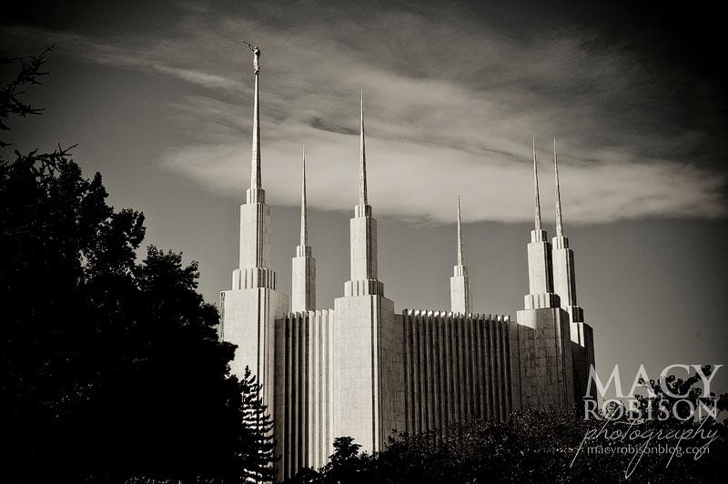 Washington DC LDS Temple Exterior 3
