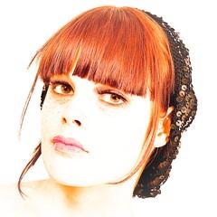 Grace Pool (Photography JC) Tags: beauty studio model eyes nikon pretty gorgeous lips redhead stunning 28 freckles brunette nikkor hikey headpiece bowens 500x500 2470 d700 gracepool