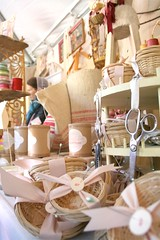 amazing display (contentedsparrow{megan}) Tags: market antiques fallfair craftshow crafters antiqueshow artisanmarket countrylivingmagazine germanbaptist countrylivingfair2009 theartofthedisplay mcmasterandstorm