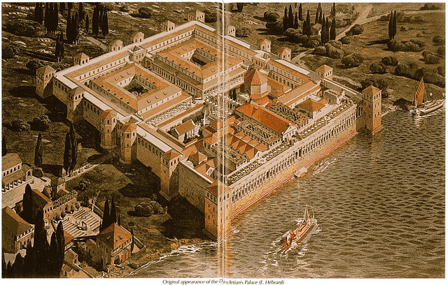 Diocletian's Palace, Original Appearance