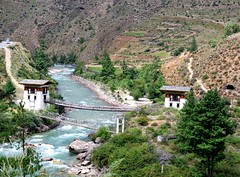 bridge in Bhutan
