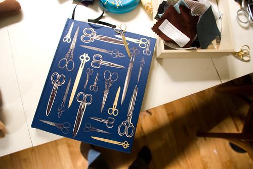 scissors design book