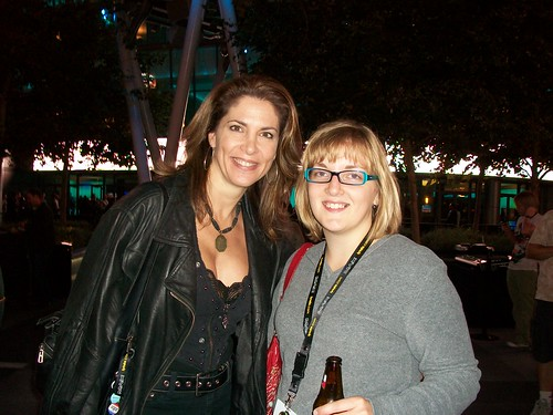 Stephanie Sullivan and me