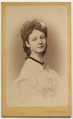(ggaabboo) Tags: wien girl lady austria hungary dame foundphoto 1870s visitportrait drszkely drszkelymassak