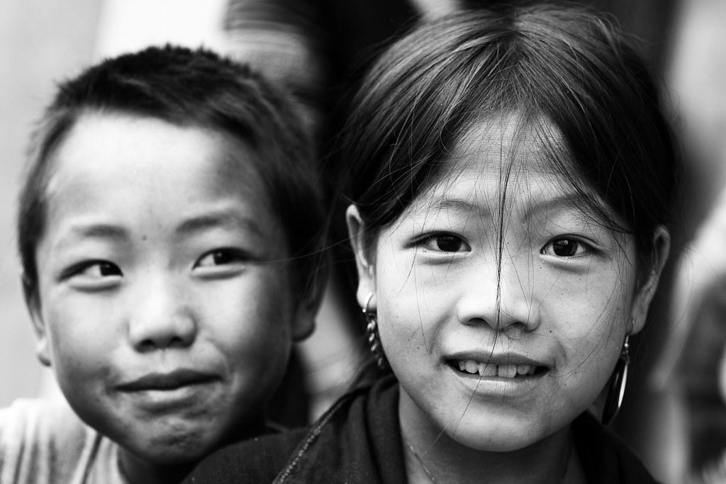 Vietnam Portraits #2 - Chapa Schoolchildren