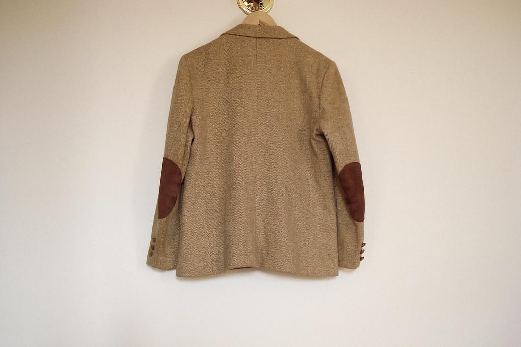 vintage tan blazer