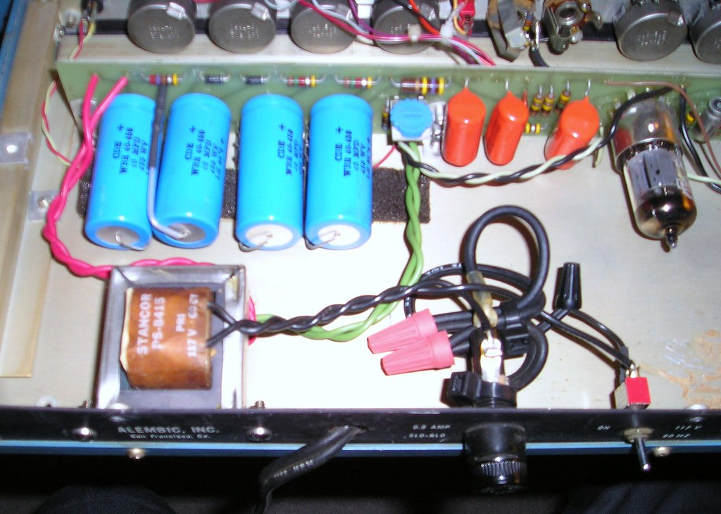 Alembic F2-B Pre-Amp Restoration project on