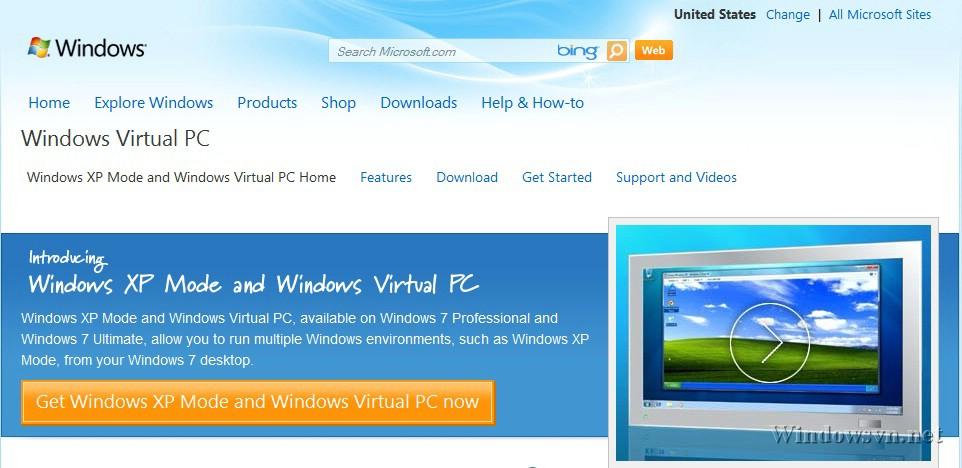 Download Windows XP Mode – Bản XP SP3 miễn phí cho Windows 7 | Diễn