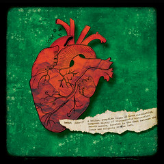 hollow (crosti) Tags: love illustration hurt heart christina card anatomy definition dictionary tsevis blackhearted crosti