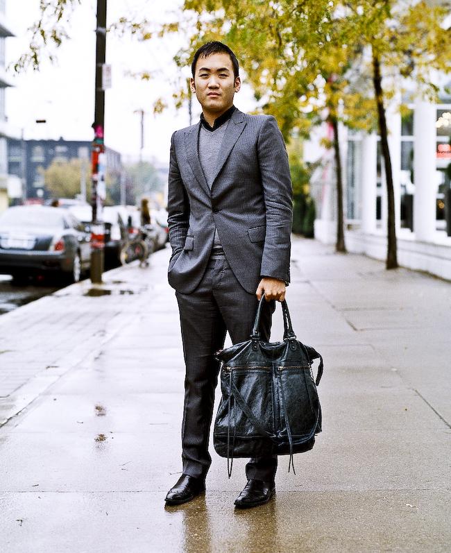 Balenciaga Bag, Toronto Street Fashion @ Toronto Fashion Week, King St. W.