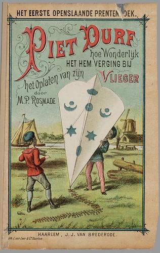 Piet Durf, hoe wonderlijk het hem verging bij het oplaten van zijn vlieger, by M.P. Rosmade, 1881