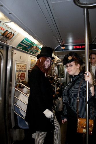 Steam Punk on the Train