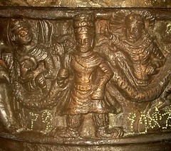 Indo - Greek Buddhist Kanishka Casket detail