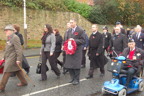Whickham Remembrance Day Nov 09 no 3