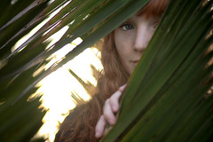 Caitlin Randolph in the Palms (laurenlemon) Tags: sunset portrait green caitlin interestingness 85mm explore palmtrees f18 frontpage explored canoneos5dmarkii laurenrandolph caitlinrandolph laurenlemon homersbeautyofwomen wwwphotolaurencom