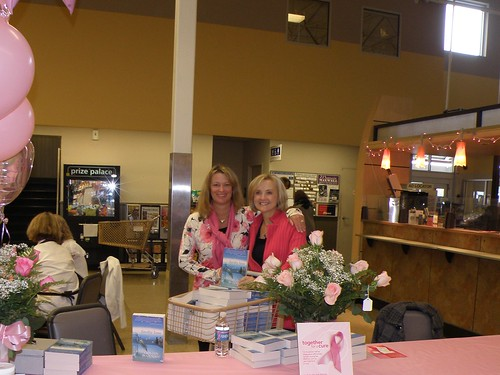 with Trish May, celebrating breast cancer awareness month