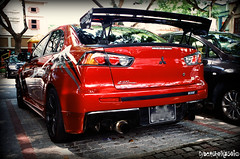 Lancer Evolution X GSR SST (EriPhotography) Tags: camera red slr film canon eos singapore evolution x lancer sst mitsubishi 500n eriphotography