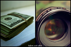 82/365 Which one would you choose? (Victor Mui) Tags: pictures 3 money blur color colors photography 50mm one diptych flickr you opposite dough curves victor cash 365 would tones which 1740mm f4 82 choose mkii f12 somewhat mui 82365 aperure