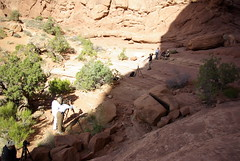 Arches National Park (Samuel Mann) Tags: utah arch double visitor photograoher april2010