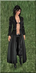 Leather Coat (Jaquelline LeShelle) Tags: nomine essences sfdesigns devicious