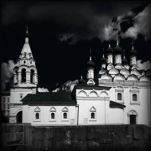 «Храм Симеона Столпника. Обработка - Holga Infrared»