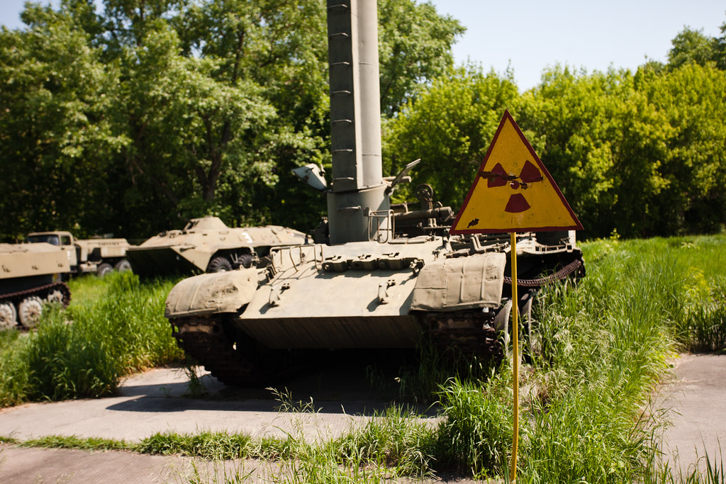Chernobyl: Tanks for nothing