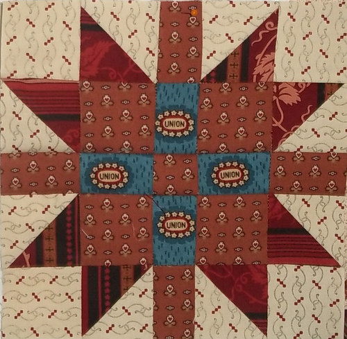 Civil War 2011-New England Block by namawsbuzyquiltn