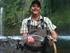 Trophy Rainbow Trout fly fishing @Mossbrae Falls, Upper Sacramento River