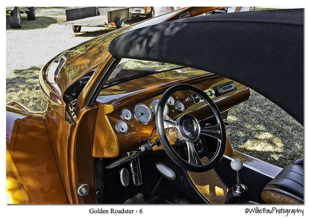 Golden Roadster.
