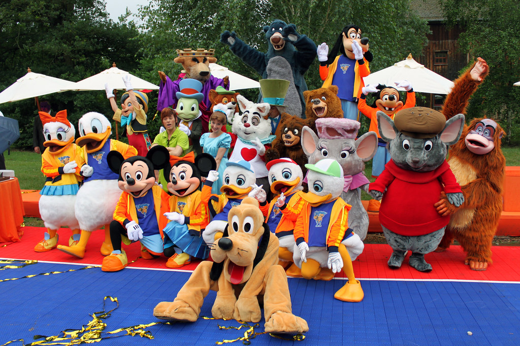 Disney S All Star Basketball Game At Disney Character Central