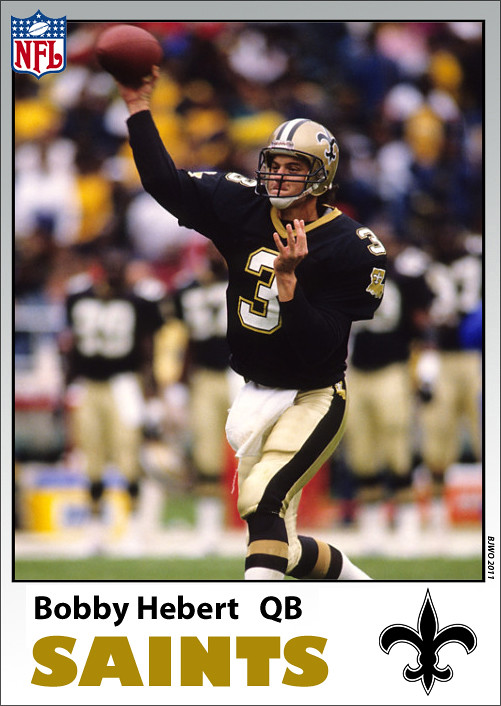NFL B Hebert NO card-bj