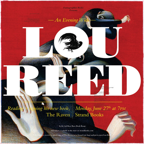 Lou Reed at The Strand