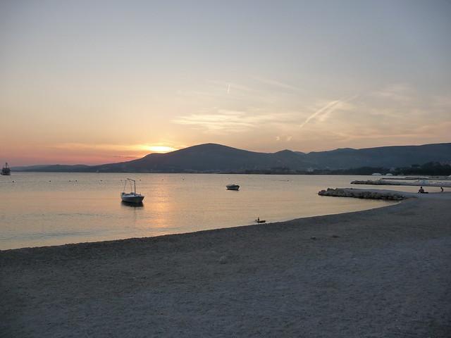 the beach of Ciovo Island