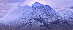 The Wee One (J McSporran) Tags: scotland highlands westhighlands buachailleetivebeag beinnachrulaiste stobcoireraineach stobdubh canon6d ef70200mmf28lisiiusm mountains snow glencoe