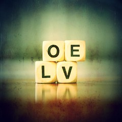 L.O.V.E (Stephen.James) Tags: game texture love vintage square grunge blocks cubes stephenjames