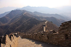 vertigo // mutianyu great wall (gaffjones) Tags: china wall stairs canon eos climb steps chinese beijing greatwall  mutianyu steep greatwallofchina chinesewall   40d canoneos40d