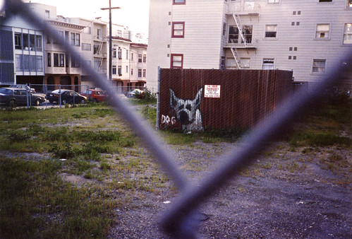 1990s Dog graffiti 12