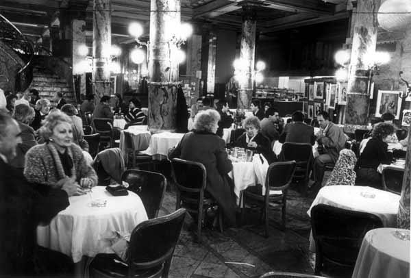 La confiteria del Molino de Buenos Aires dans les années 90