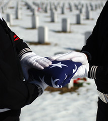 A Funeral Flag, American Veteran Soldier, The ...