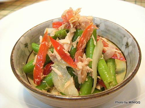 開胃小菜(洋蔥鮪魚四季豆)