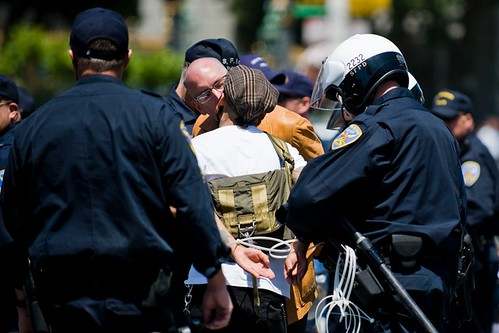 Last kiss before arrest after Prop 8 decision